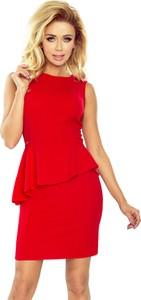 Sukienka NUMOCO baskinka bez rękawów z okrągłym dekoltem