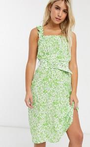 Zielona sukienka Faithfull The Brand