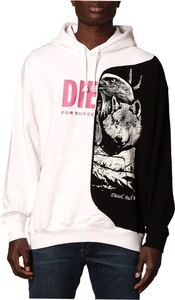 Bluza Diesel z bawełny w młodzieżowym stylu