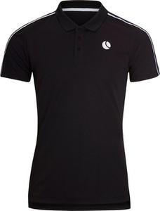 Czarna koszulka polo Bjorn Borg z krótkim rękawem