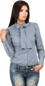 Koszula MOE z długim rękawem z kokardą