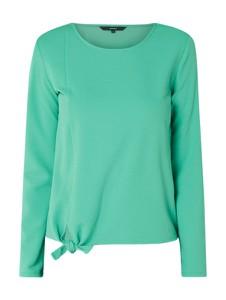 Zielona bluzka Vero Moda w stylu casual z okrągłym dekoltem