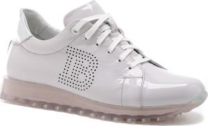 Buty sportowe Karino sznurowane ze skóry