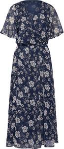 Sukienka Mavi w stylu boho maxi kopertowa