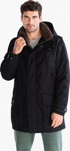 Granatowa kurtka CANDA w stylu casual z bawełny