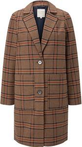 Brązowy płaszcz Tom Tailor Denim w stylu casual