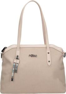 Różowa torebka NOBO w stylu casual
