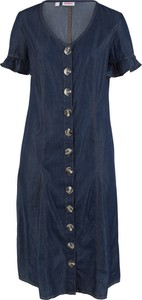 2657a9e5dd Niebieskie sukienki midi bonprix