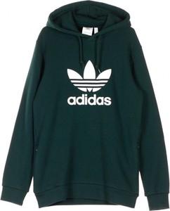 Zielona bluza Adidas w młodzieżowym stylu