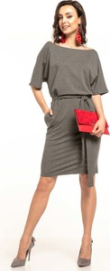Sukienka Tessita w stylu casual z bawełny midi