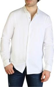Koszula Armani Exchange z kołnierzykiem button down