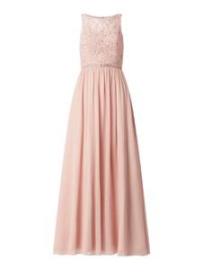 Sukienka Laona rozkloszowana maxi z szyfonu