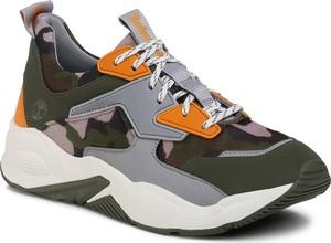 Buty sportowe Timberland sznurowane na platformie