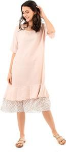 Sukienka Lin Passion z lnu oversize