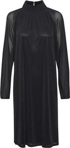 Czarna sukienka Saint Tropez w stylu casual mini