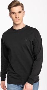 Czarna koszulka z długim rękawem Vans z długim rękawem