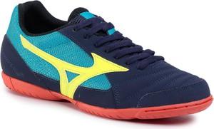 Niebieskie buty sportowe eobuwie.pl sznurowane