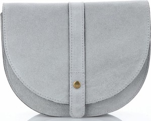 Niebieska torebka VITTORIA GOTTI w stylu casual średnia ze skóry