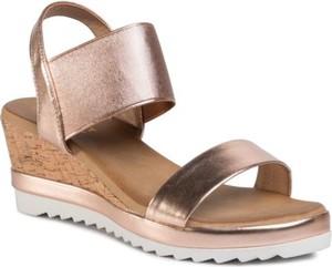 Złote sandały Jenny Fairy