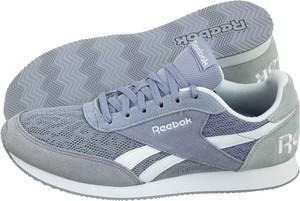 Buty sportowe Reebok z zamszu z płaską podeszwą w sportowym stylu