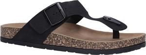 Buty letnie męskie Casu ze skóry ekologicznej z klamrami