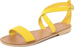 Sandały Donna Toscana z płaską podeszwą z klamrami