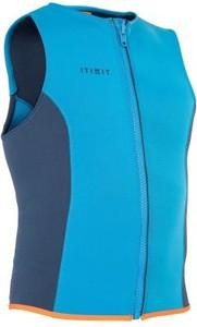 Niebieska kamizelka Itiwit w sportowym stylu z neoprenu