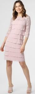 Różowa sukienka Ambiance mini