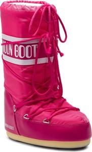 Śniegowce Moon Boot z płaską podeszwą w stylu casual
