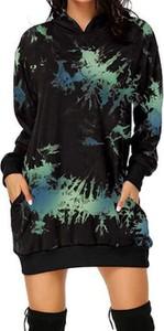 Sukienka Cikelly w stylu casual mini z dekoltem w kształcie litery v