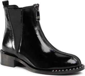 Czarne botki Quazi