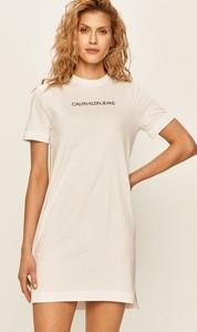 Sukienka Calvin Klein z bawełny