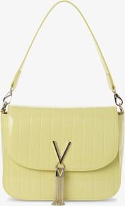 Żółta torebka Valentino na ramię