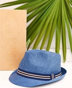 Niebieska czapka Top Secret