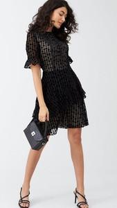 Sukienka V by Very mini z okrągłym dekoltem