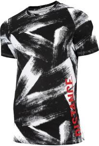 T-shirt 4F z nadrukiem z krótkim rękawem
