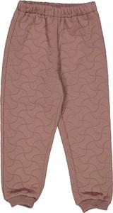 Różowe spodnie dziecięce Wheat