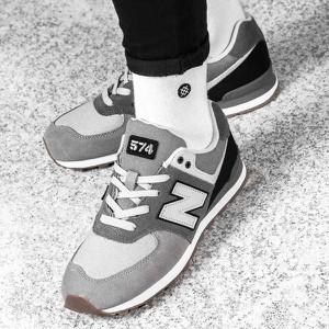 Buty sportowe New Balance w młodzieżowym stylu sznurowane