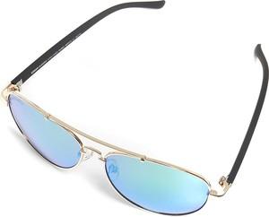 Emp Urban Classics - Mumbo Mirror - Okulary przeciwsłoneczne - zielony złoty