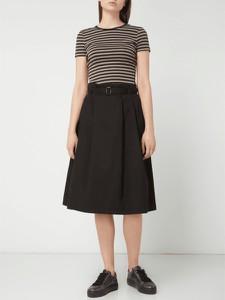 Czarna spódnica Christian Berg Women z bawełny midi