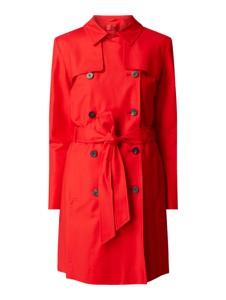 Czerwony płaszcz Hugo Boss w stylu casual