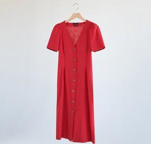 Czerwona sukienka Reserved w stylu casual