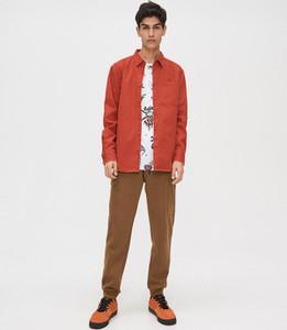 Brązowe spodnie Cropp