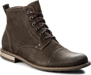 Buty zimowe gino rossi z tworzywa sztucznego