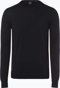 Czarny sweter Hugo Boss z kaszmiru