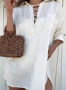 Sukienka Cikelly z bawełny