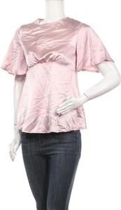 Bluzka Missguided z krótkim rękawem z okrągłym dekoltem