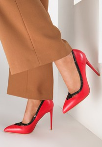 Renee czerwone szpilki career woman