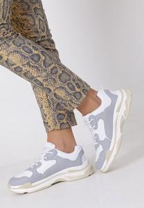 Buty sportowe Casu w sportowym stylu z płaską podeszwą