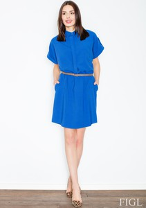 Sukienka Figl koszulowa mini
